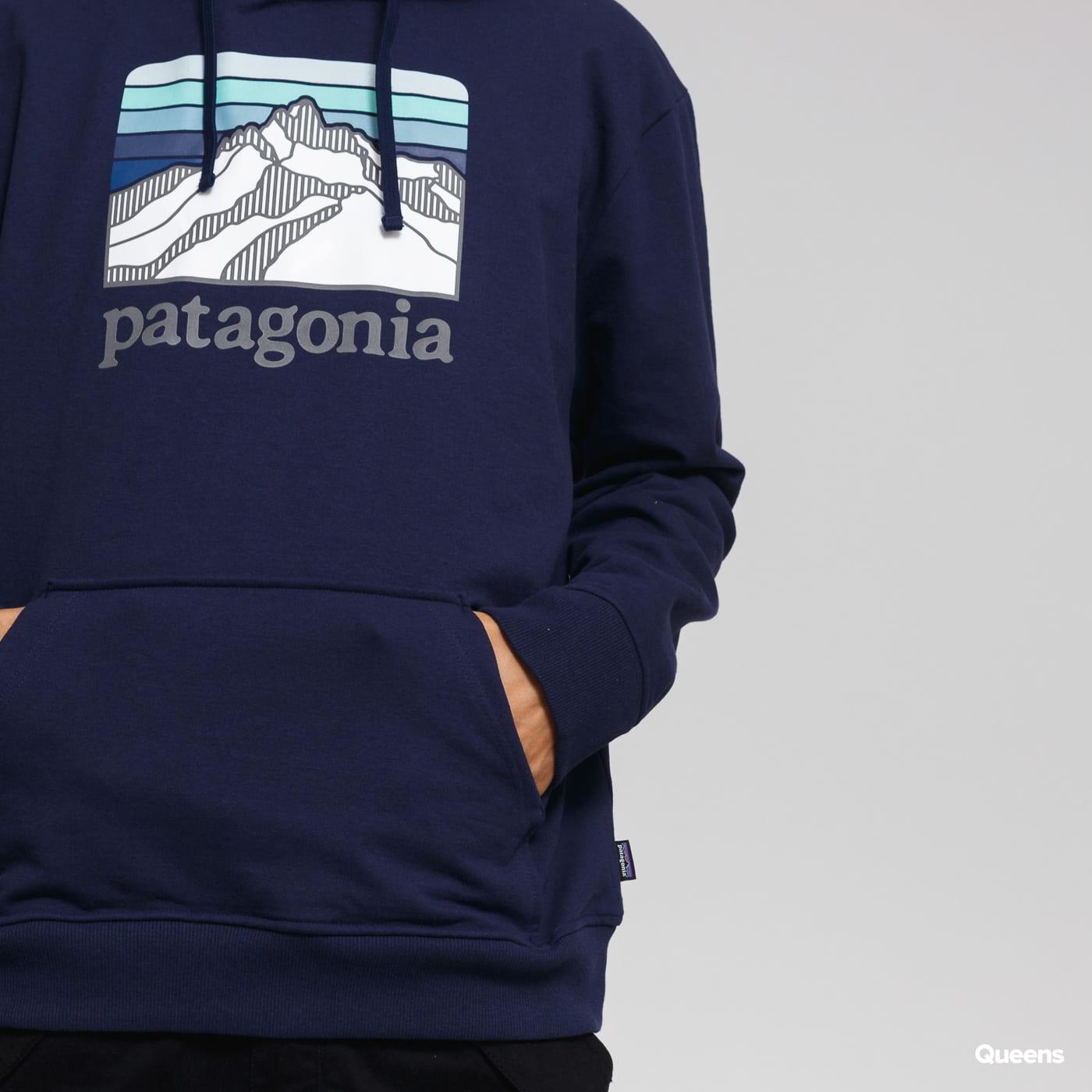Patagonia M's Line Logo Ridge Uprisal Hoody Marine