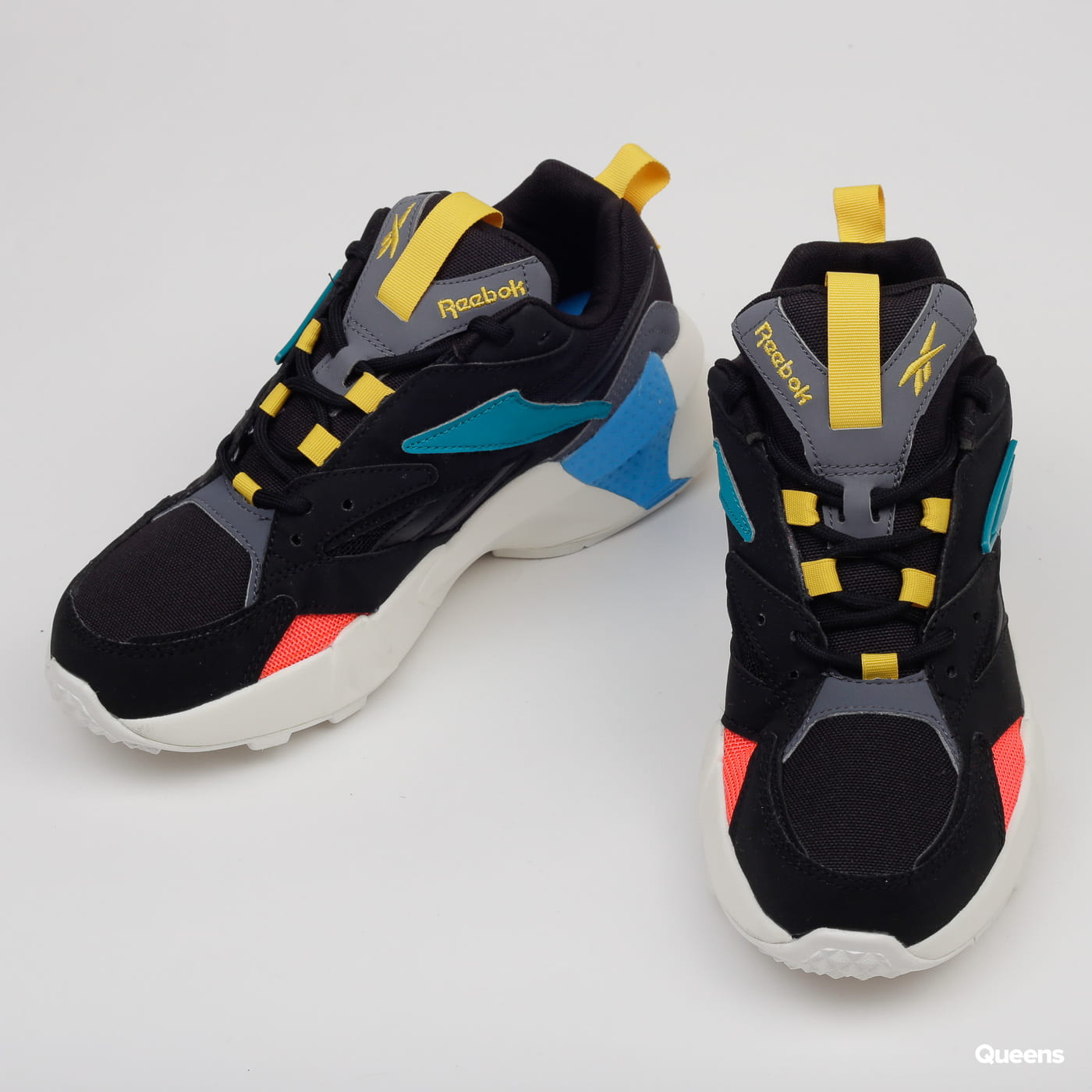 Reebok Aztrek Double Mix Pops black / alloy / teal gem
