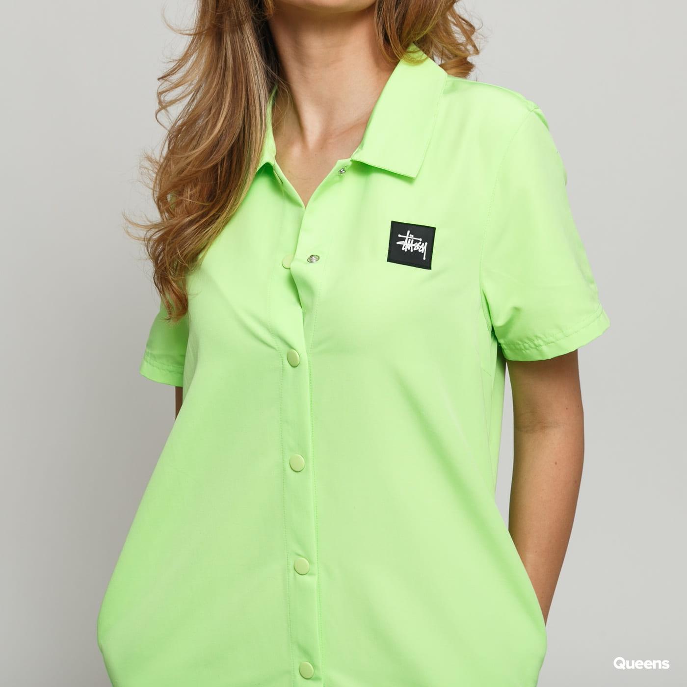 Stüssy Nomi House Dress neon grün