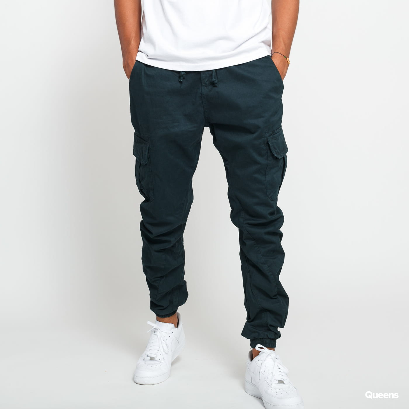 Urban Classics Cargo Jogging Pants dark green