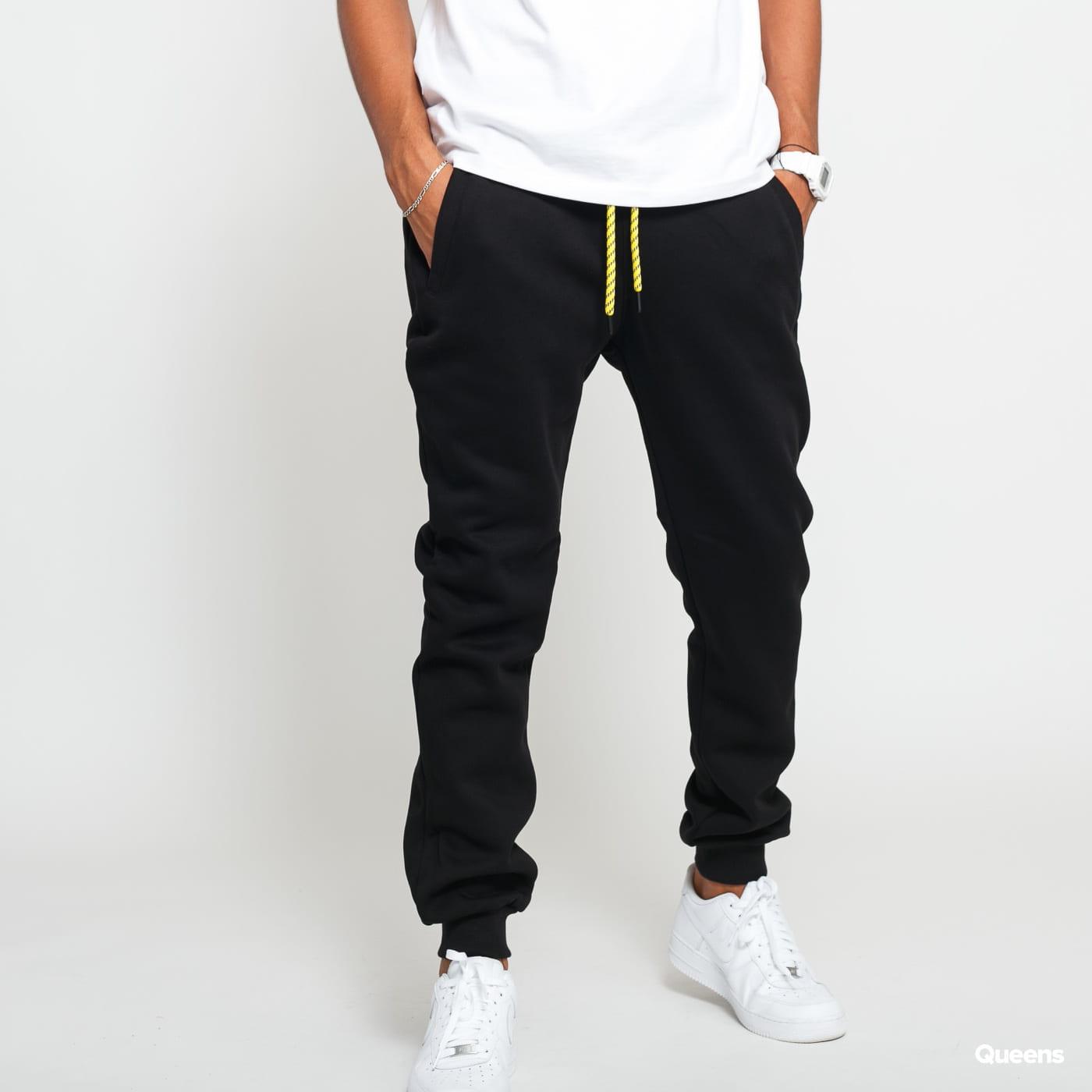 Urban Classics Contrast Drawstring Sweatpants black