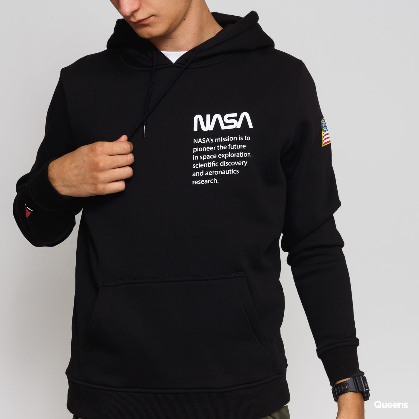 Urban Classics NASA Definition Hoody black