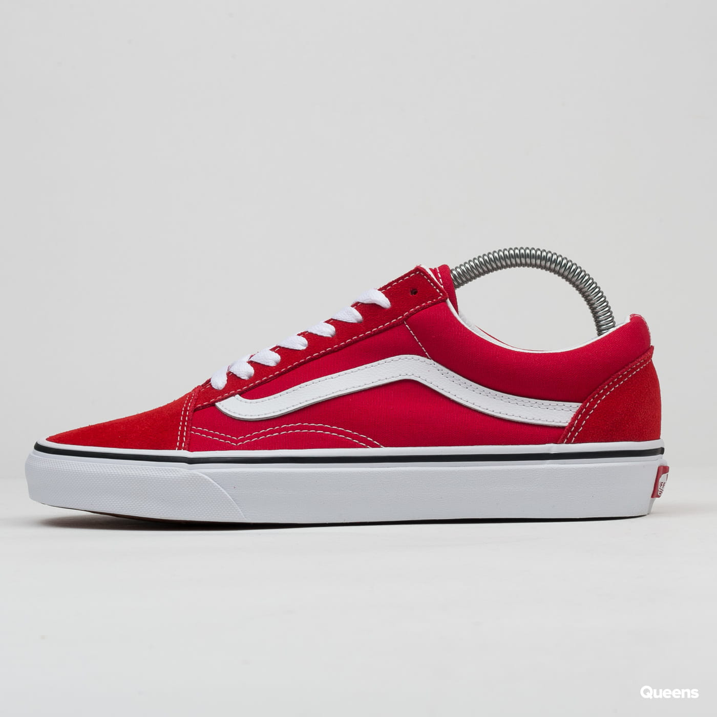 Vans Old Skool racing red / true white