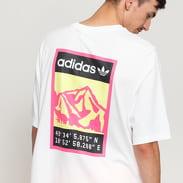 adidas Originals Graphic Tee bílé