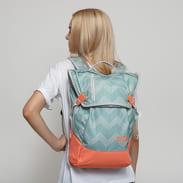 AEVOR Daypack zelený / šedý / oranžový