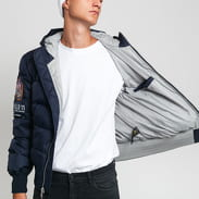 Alpha Industries Hooded Puffer Apollo 11 navy