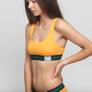 Calvin Klein Unlined Bralette oranžové