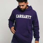 Carhartt WIP Hooded College Sweat fialová