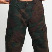 Carhartt WIP Regular Cargo Pant camo tmavě zelené
