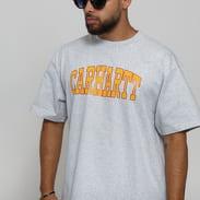 Carhartt WIP SS Theory T-Shirt melange šedé
