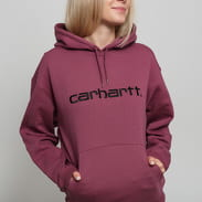Carhartt WIP W' Hooded Carhartt Sweat fialová