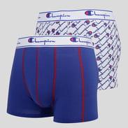 Champion 2 Pack Boxer Briefs bílé / modré