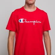 Champion Crewneck T-Shirt červené