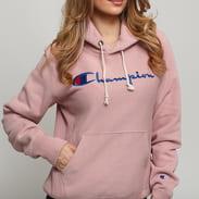 Champion Hooded Sweatshirt světle růžová