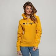 Champion Hooded Sweatshirt tmavě žlutá