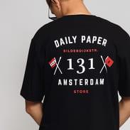 Daily Paper Amsterdam Store Tee černé