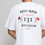 Daily Paper Amsterdam Store Tee bílé