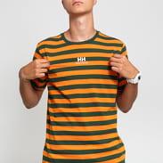 Helly Hansen Logo Tee oranžové / tmavě zelené