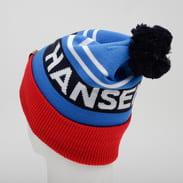 Helly Hansen Ridgeline Beanie modrý / červený / bílý / černý