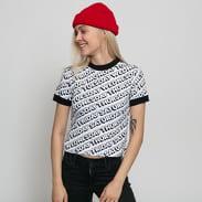 LAZY OAF Day After Day Ringer T-Shirt bílé / černé
