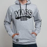 Mass DNM Hassle Hoody melange šedá