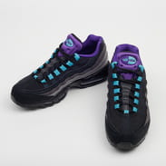 Nike Air Max 95 LV8 black / court purple - teal nebula