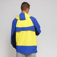 Nike M NSW Re-Issue Jacket Hoody Woven žlutá / modrá