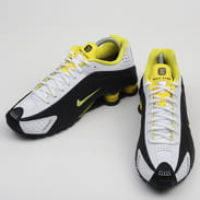 Nike Shox R4 black / dynamic yellow - white