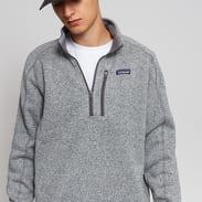 Patagonia M's Better Sweater 1/4 Zip melange šedá