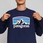 Patagonia M's Fitz Roy Horizons Uprisal Crew navy