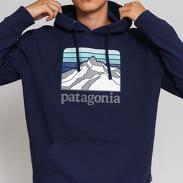 Patagonia M's Line Logo Ridge Uprisal Hoody navy