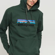 Patagonia M's P6 Logo Uprisal Hoody tmavě zelená
