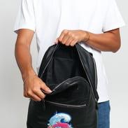 Pink Dolphin Shimmer Chenille Backpack černý