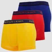 Polo Ralph Lauren Classic Trunk - 3 Pack žluté / červené / tmavě modré