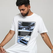 Puma Light Motion Photo Tee bílé