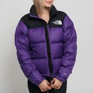 The North Face W 1996 Retro Nuptse Jacket fialová / černá