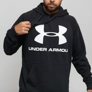 Under Armour Rival Fleece Logo Hoodie černá
