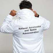 Urban Classics NASA Worm Logo Pull Over Jacket bílá