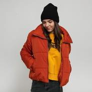 Vans WM Foundry Puffer Jacket tmavě oranžová