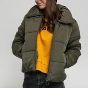 Vans WM Foundry Puffer Jacket olivová