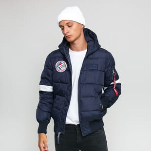 Alpha Industries Hooded Puffer FD NASA