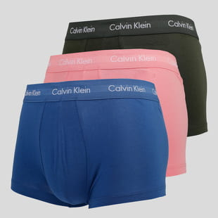 Calvin Klein 3 Pack Low Rise Trunks