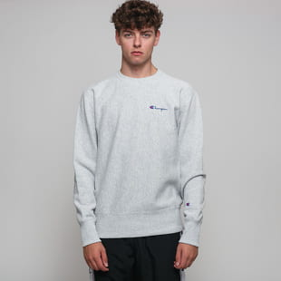 Champion Reverse Weave Small Script Crew Sweat
