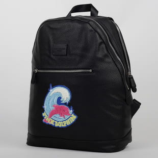 Pink Dolphin Shimmer Chenille Backpack