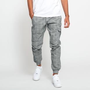 Urban Classics AOP Glencheck Cargo Jog Pants