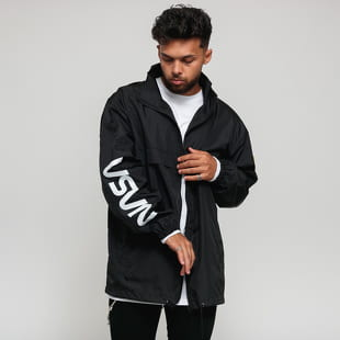 Urban Classics NASA Worm Logo Nylon Windbreaker