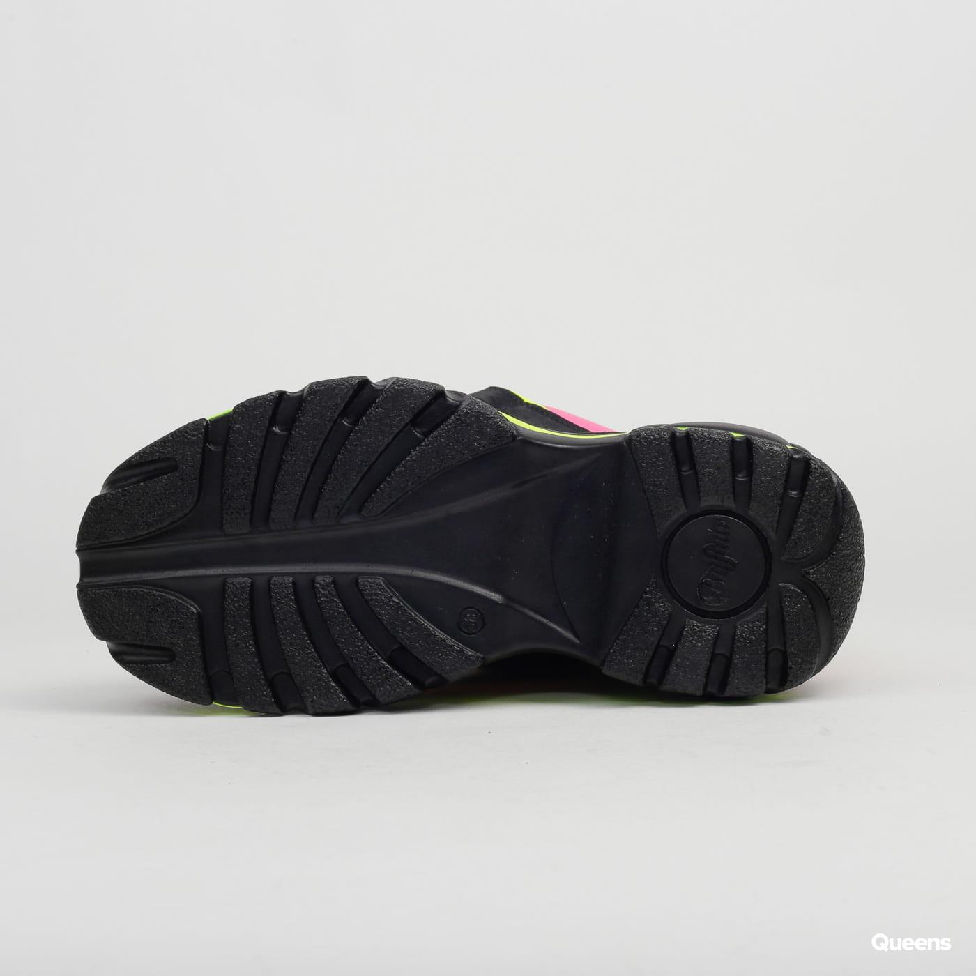Buffalo Classic Chunky Sneaker Leather black / fuchsia