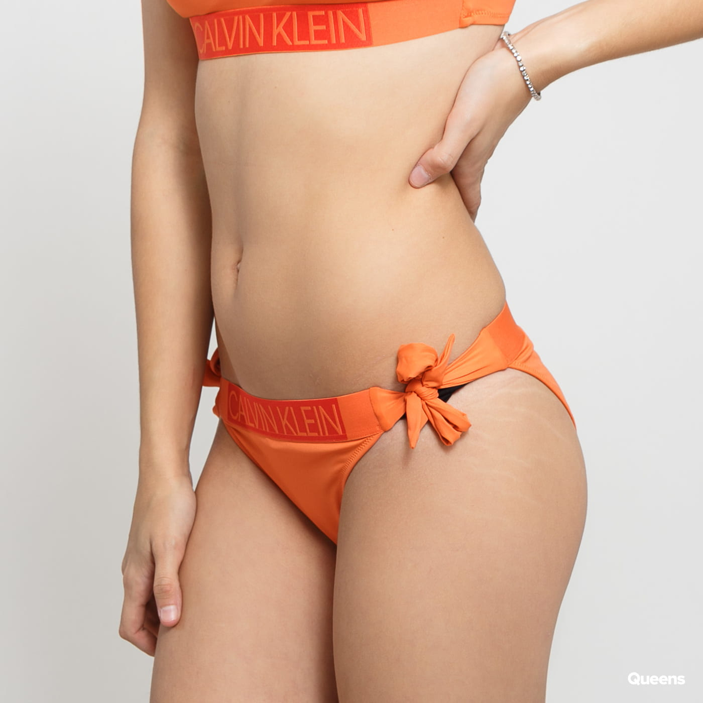 Calvin Klein Classic Side Tie Bikini - Slip orange