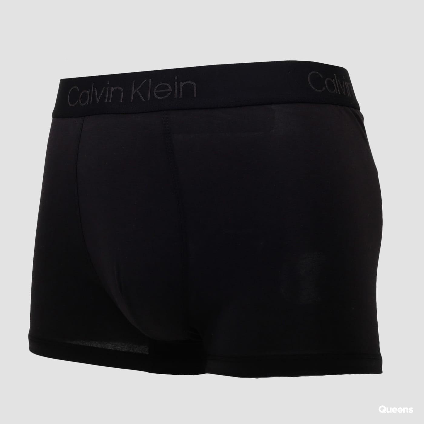 Calvin Klein Egyptian Cotton Trunk C/O čierne