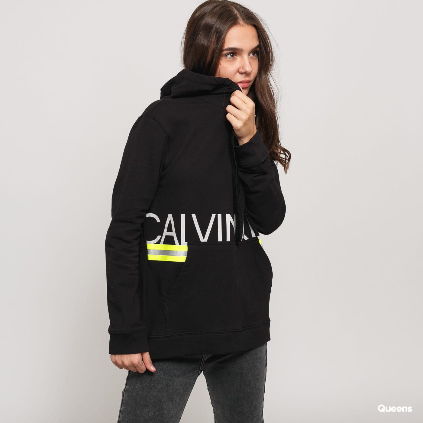 Calvin Klein Long Sleeve Hoodie schwarz